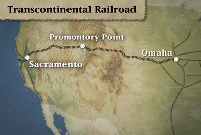 Transcontinental Railroad - The Transportation Revolution